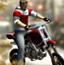 猛男开摩托