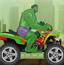 绿巨人山地赛车