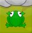 青蛙跳跃竞赛