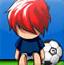 可爱卡通足球