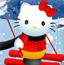 凯蒂猫滑雪