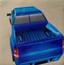 蓝色皮卡车