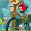 愤怒的小鸟骑车