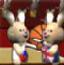 疯狂兔子打篮球