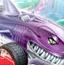 鲨鱼火箭车
