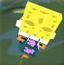 真假海绵宝宝3D赛车2
