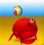 螃蟹打排球