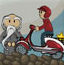 骑摩托的少年