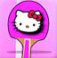 凯蒂猫乒乓球