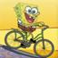 海绵宝宝汉堡自行车