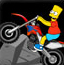 辛普森骑摩托