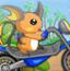 宠物小精灵摩托车