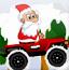 圣诞老人卡丁车