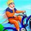 鸣人自行车挑战