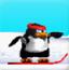 企鹅玩滑板