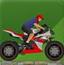 少年开摩托车