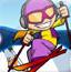 冰雪滑板大比拼