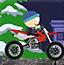 男孩骑摩托车