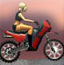 苏联美女骑摩托