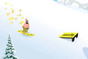 海绵宝宝滑雪赛