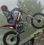 有趣的越野摩托
