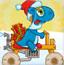 小恐龙圣诞版
