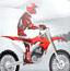 冰山雪地摩托车