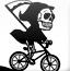 骷髅自行车越野