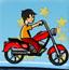 小男孩的摩托车