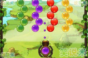 小熊水果泡泡龙