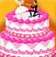 新婚蛋糕装饰
