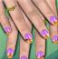 可爱的指甲设计