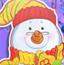 制作圣诞雪人
