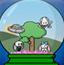 比尼兔水晶球