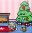 圣诞节的可爱房间