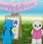 小蓝兔的快乐生活