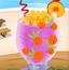 五彩水果冰沙