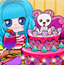 小可爱开蛋糕派对