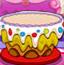 多彩的生日蛋糕