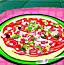可口的比萨