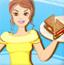 芭比制作三明治