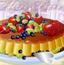 美味的水果蛋糕