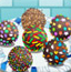 多彩巧克力球