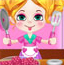 琪琪做桃子冰淇淋