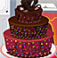 可口巧克力蛋糕