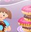 美眉做甜甜圈