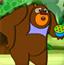 熊出没捡垃圾