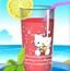 凯蒂猫的果汁杯