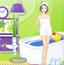 布置绿色浴室