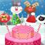 霜糖圣诞蛋糕